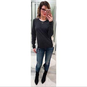 Rag & Bone Colorblock Wool Cashmere Sweater